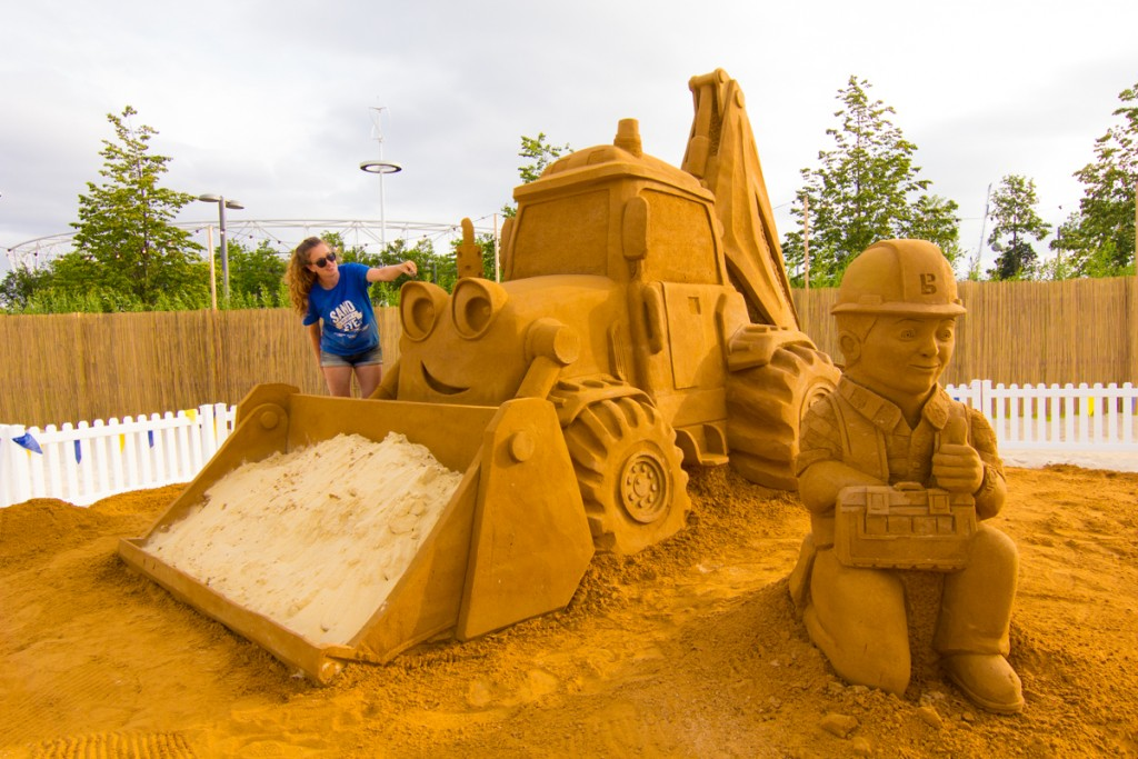 Professional sand sculptures by Sand In Your Eye