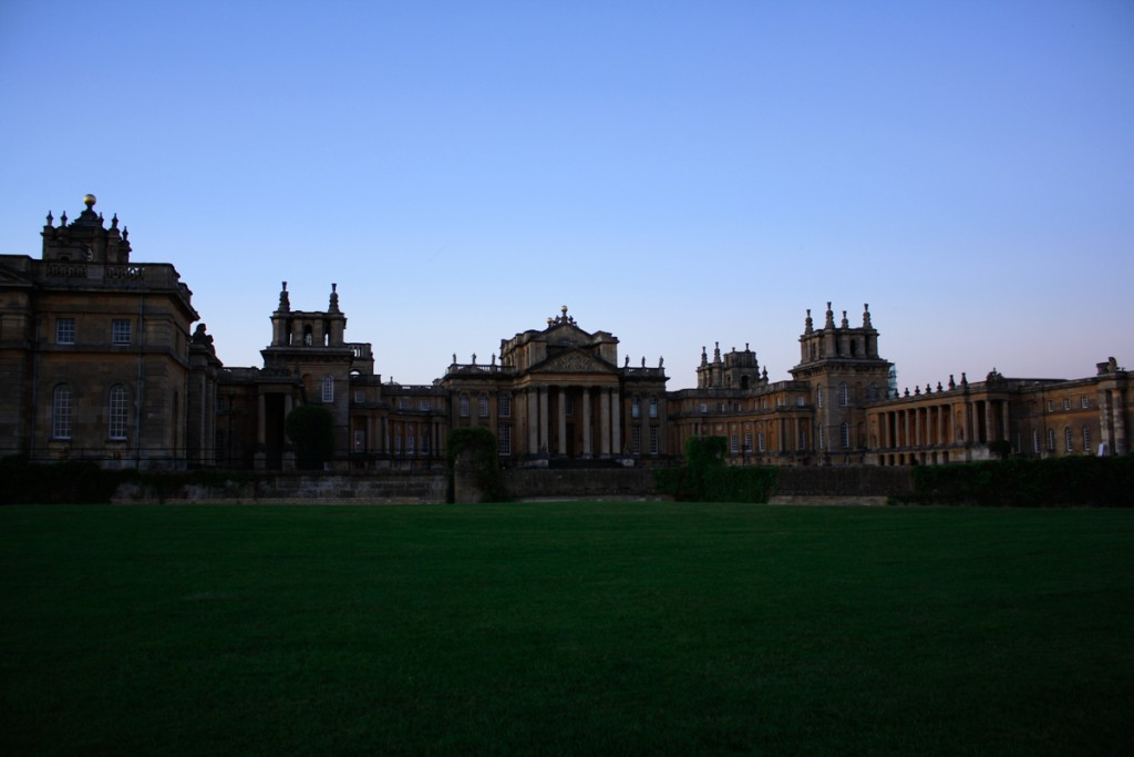 Blenheim Palace sunrise Countryfile Live Festival
