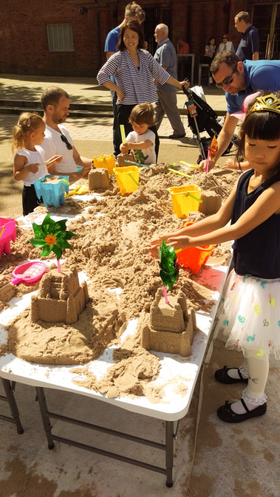 Family fun with our pop up summer workshop event with the RSC