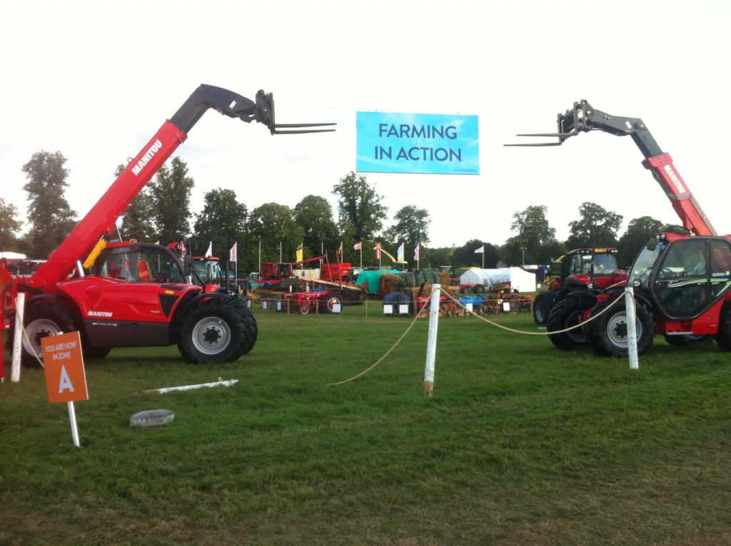 Farming in Action, Countryfile Live
