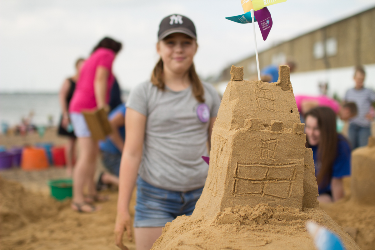 sand sculpture workshop