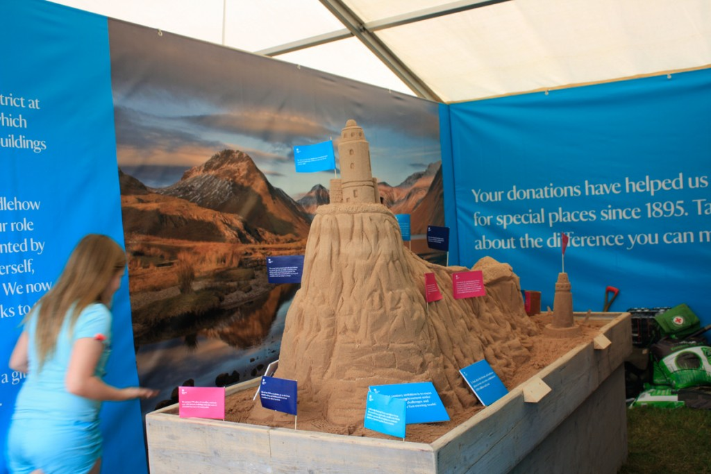 Sand In Your Eye visit Countryfile Live with the National Trust