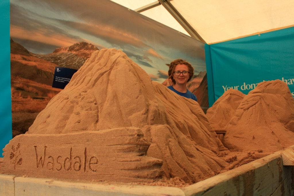 Sand In Your Eye festival fun with our sand sculpture workshops