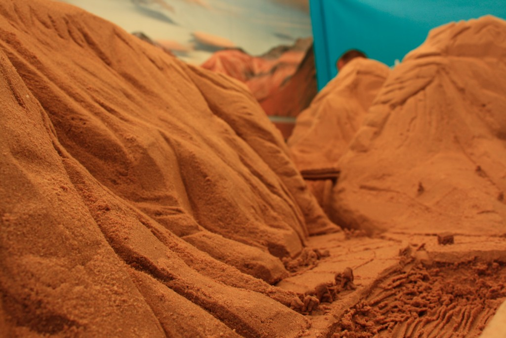Sand sculptures at summer events and festivals