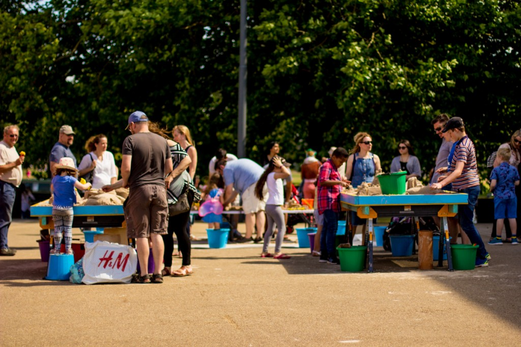 Summer events, pop up workshops England