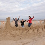 Events perfect for children, our giant sand sculptures