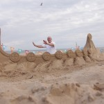 Summer events UK interactive sand sculptures