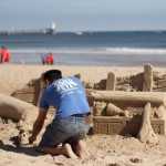 Professional sand sculptor from Sand In Your Eye