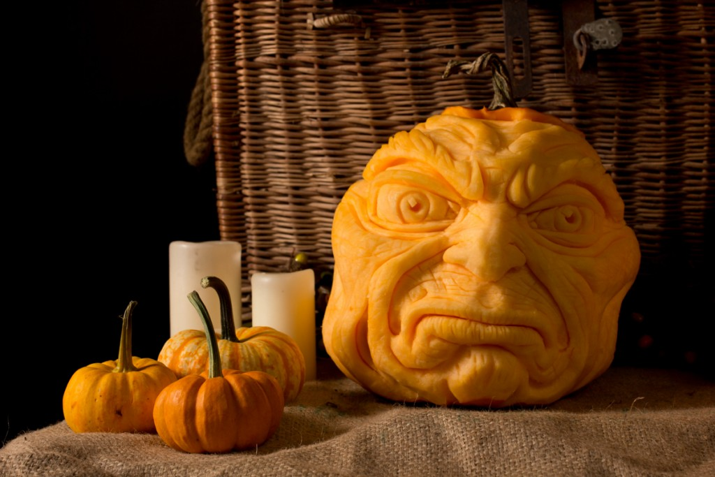 Created by Bradford born pumpkin carver, Jamie Wardley