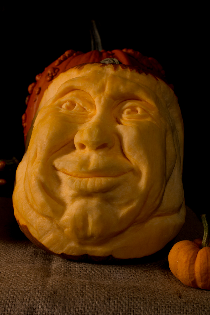 Created by Lancashire born pumpkin carver, Claire Jamieson