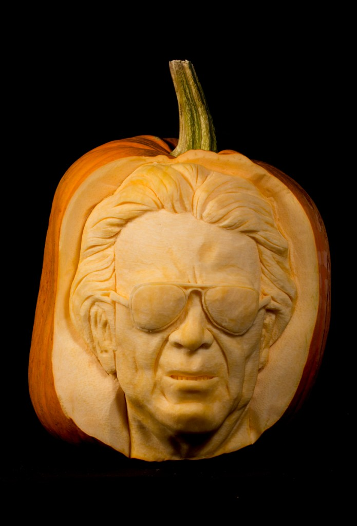Massimo Cellino Leeds Manager pumpkin carving uk