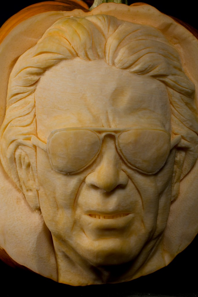 Massimo Cellino Leeds Manager pumpkin carving