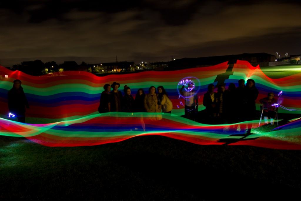 Light Art Workshop, World Mental Health Day