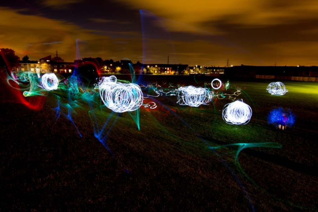 Light Art, long exposure photography