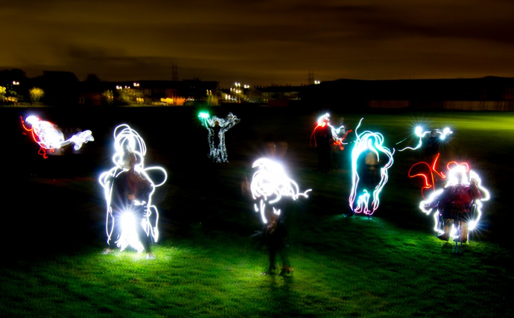 Light Art Workshop, South Shields