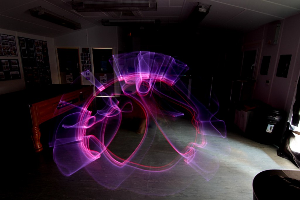 Yorkshire based light art workshops