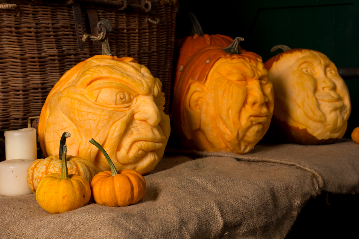Pumpkin carvers based in West Yorkshire UK
