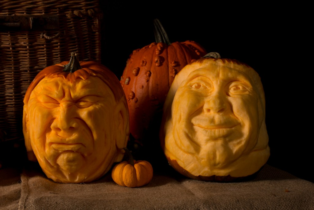 Pumpkin carvers Halloween events