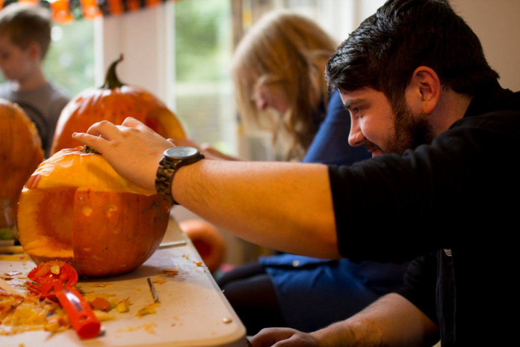 Workshop fun, pumpkin carving workshops UK