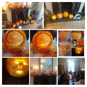 Yorkshire based pumpkin carving workshops , UK