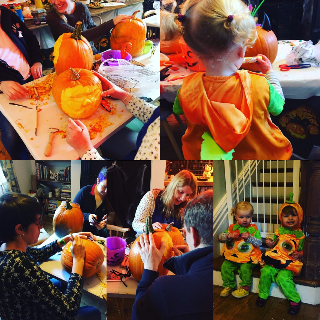 Halloween family fun events, pumpkin carving workshops