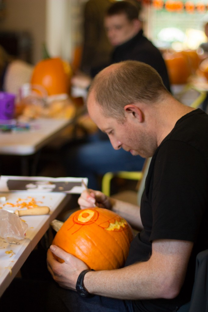 pumpkin carving workshop sessions for all ages