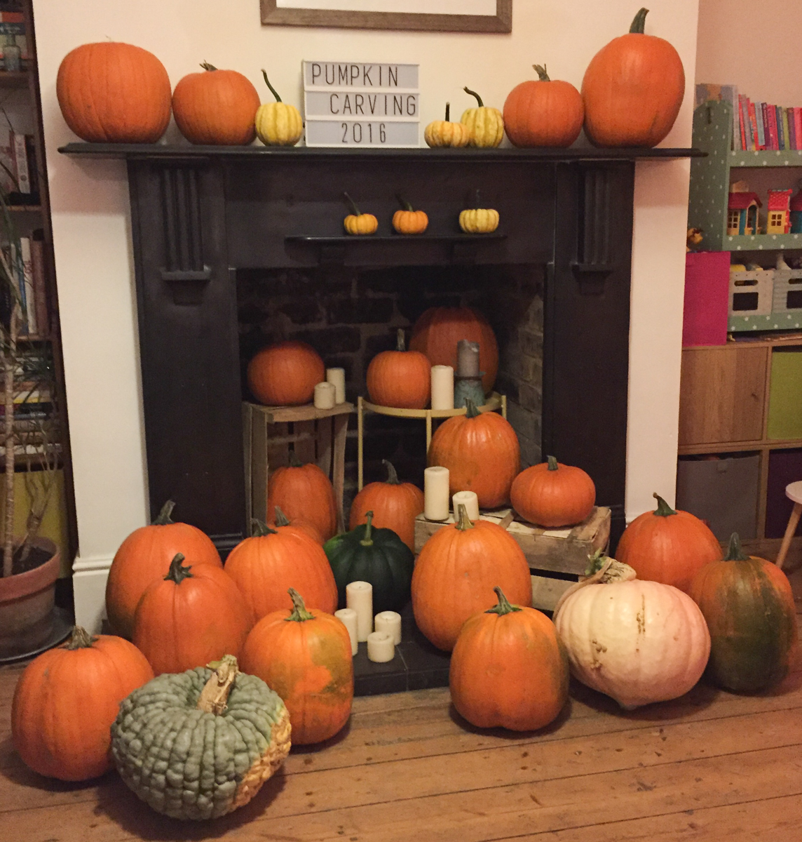 UK pumpkin carving workshop