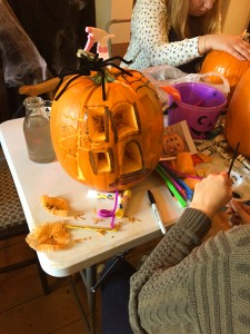 Pumpkin carving workshop uk