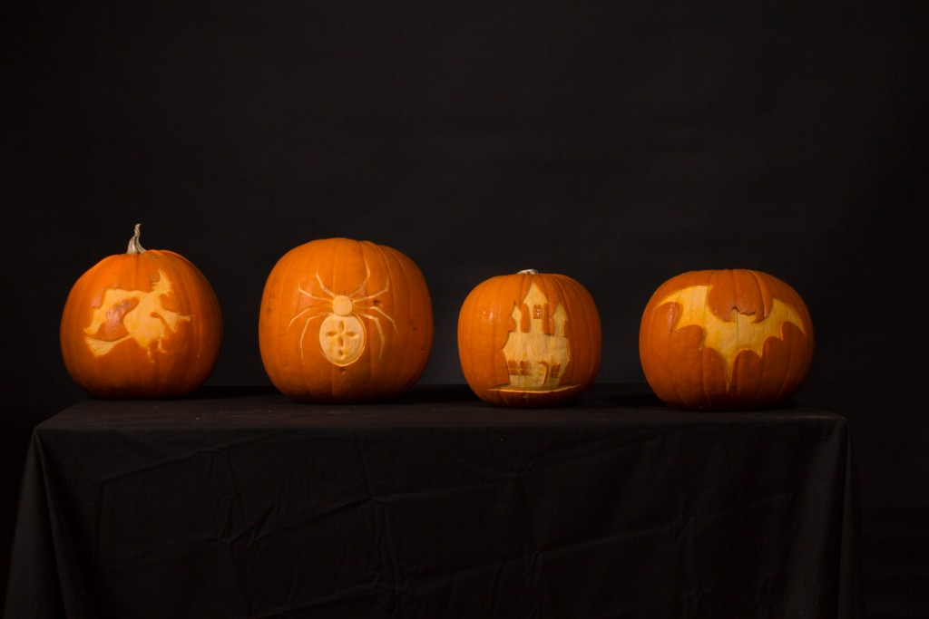 Simple Stencil pumpkin carving
