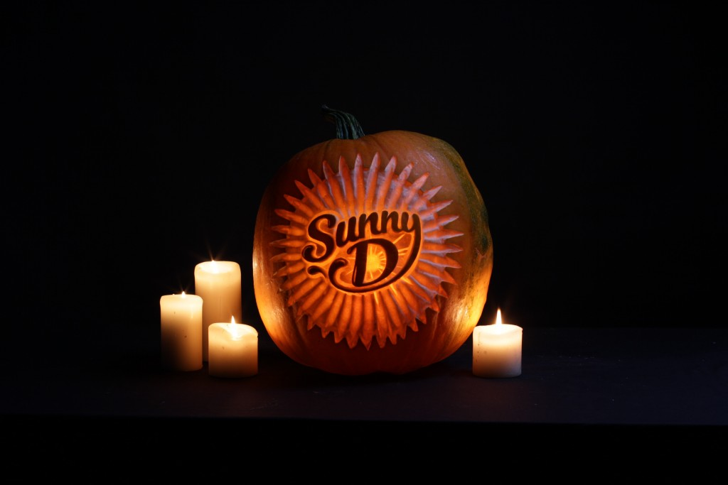 Social media and branding, pumpkin carving logos
