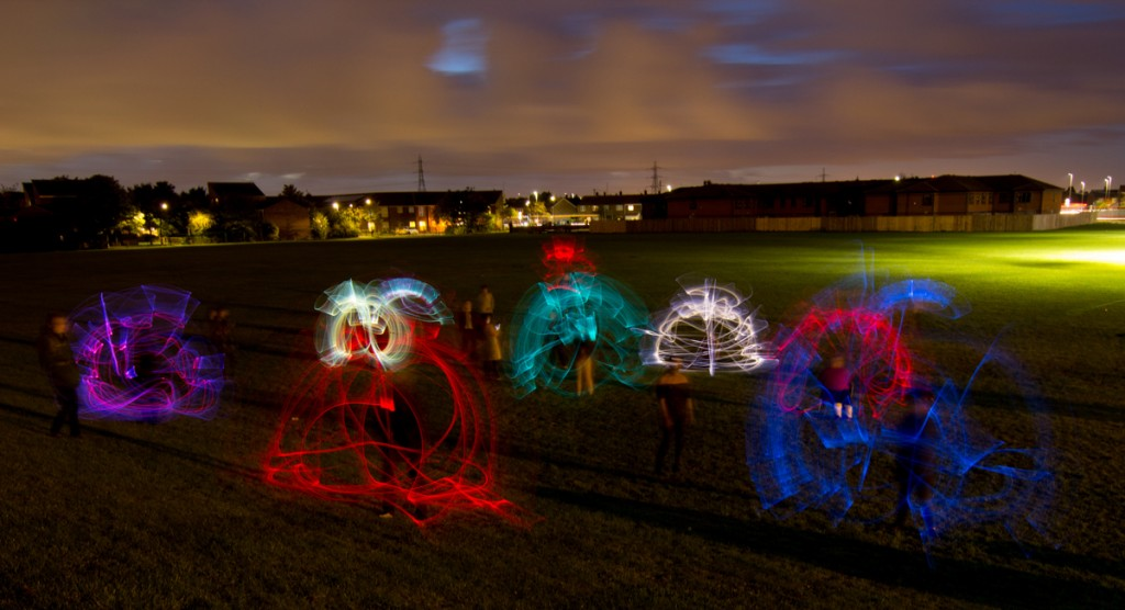 Light art workshop