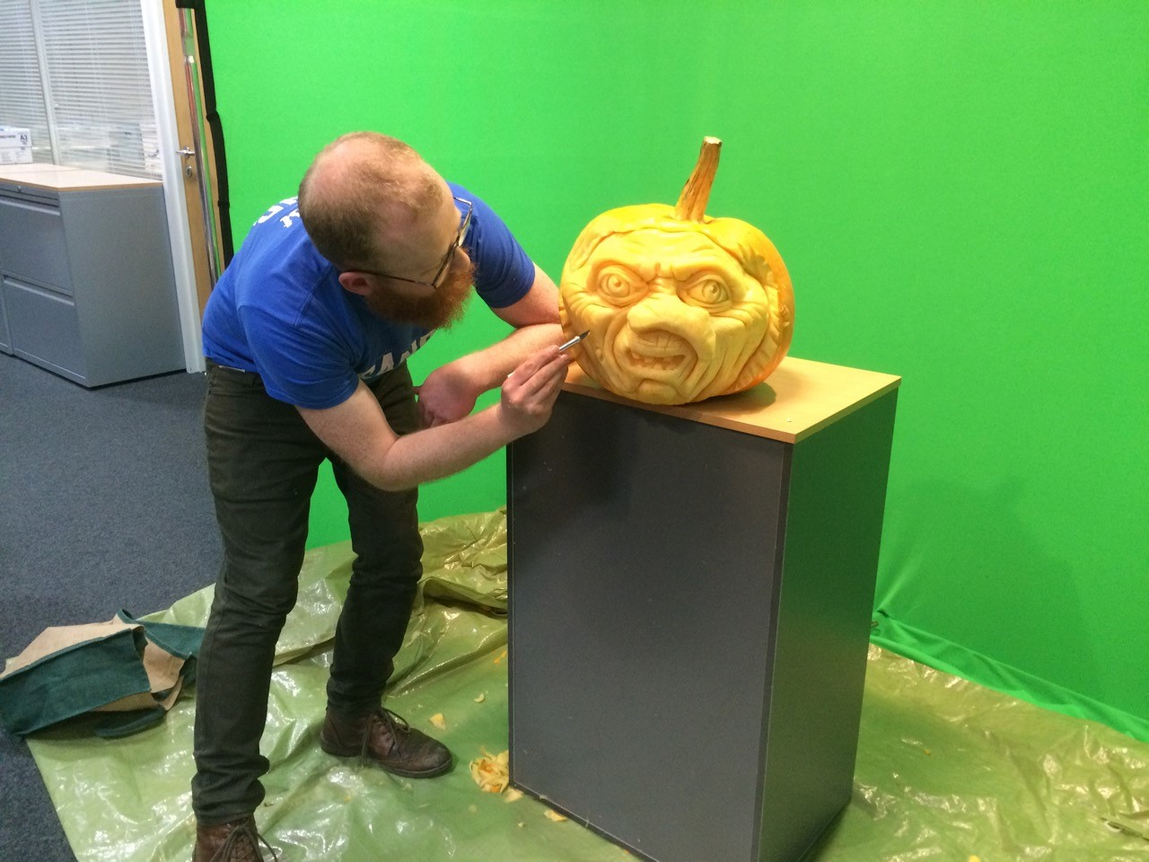 carving nearly done!