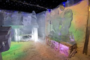 Ice bar and ice sculptures Nottingham