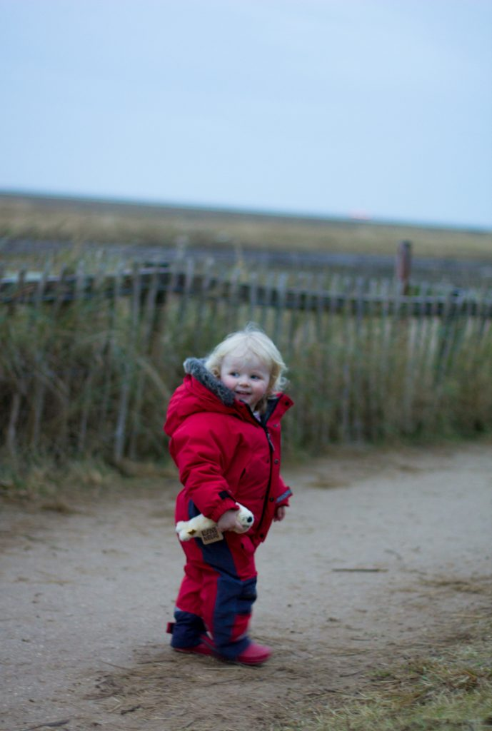 Florence at Donna Nook