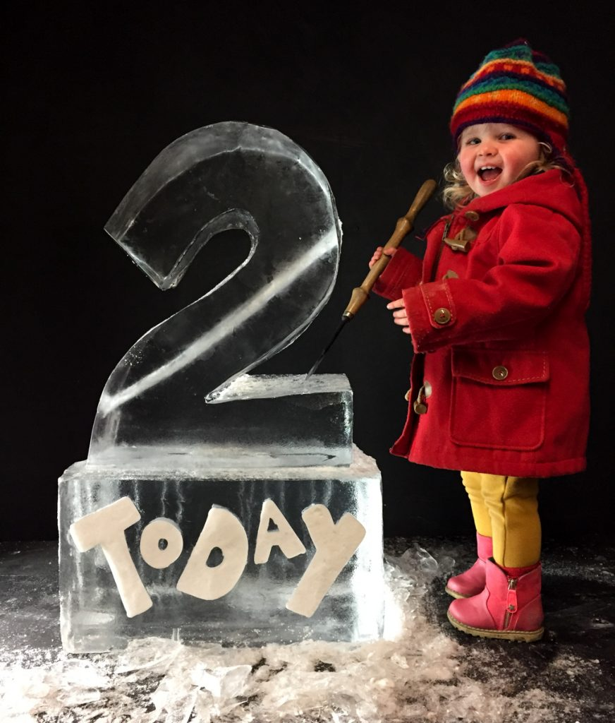 Yorkshire's best ice sculptor turns two!