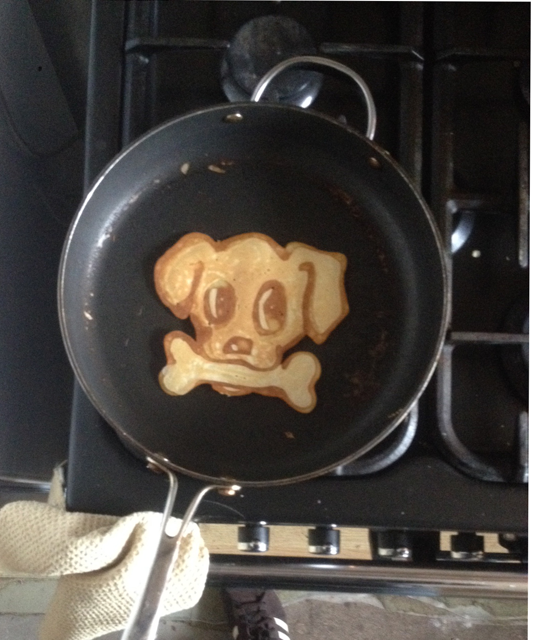 Pancake Art, Dog