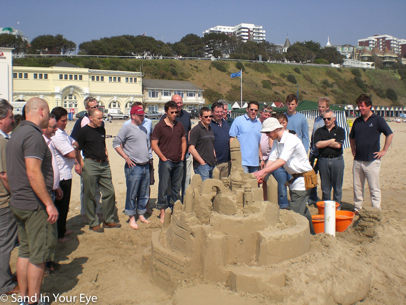 Corporate Team Building event at the beach