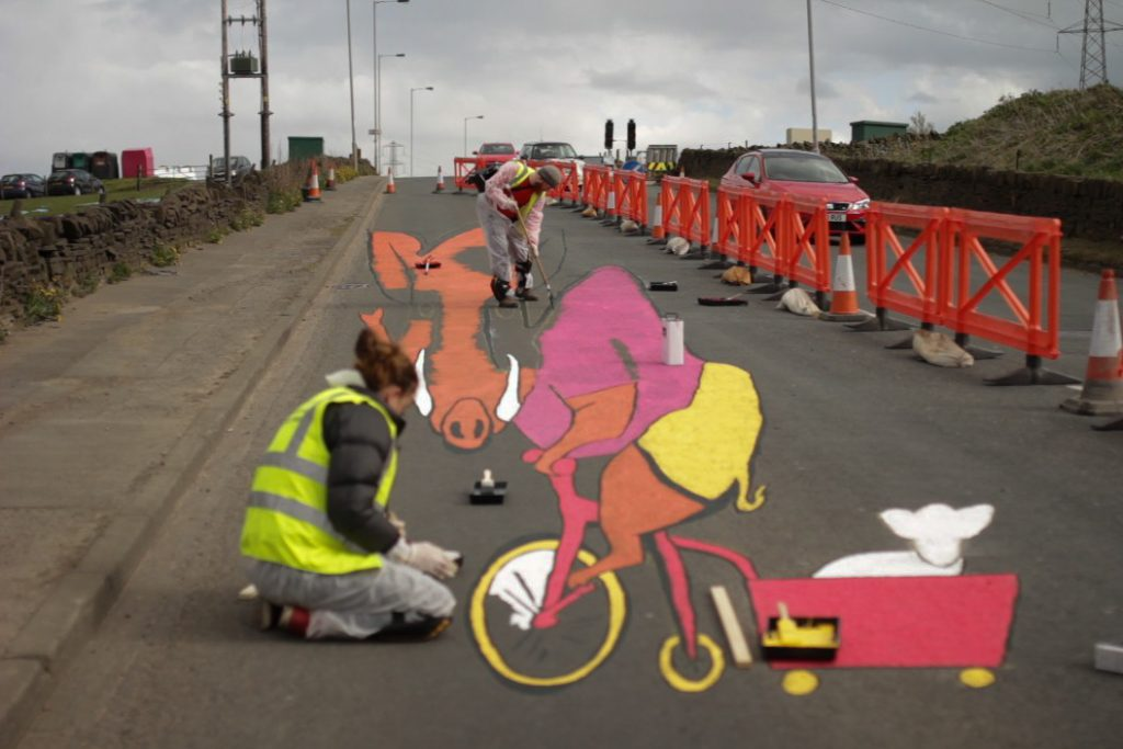 Bradford Boar for Tour De Yorkshire