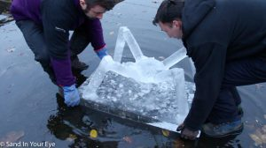 Ice Sculpture Corporate Team Building Event