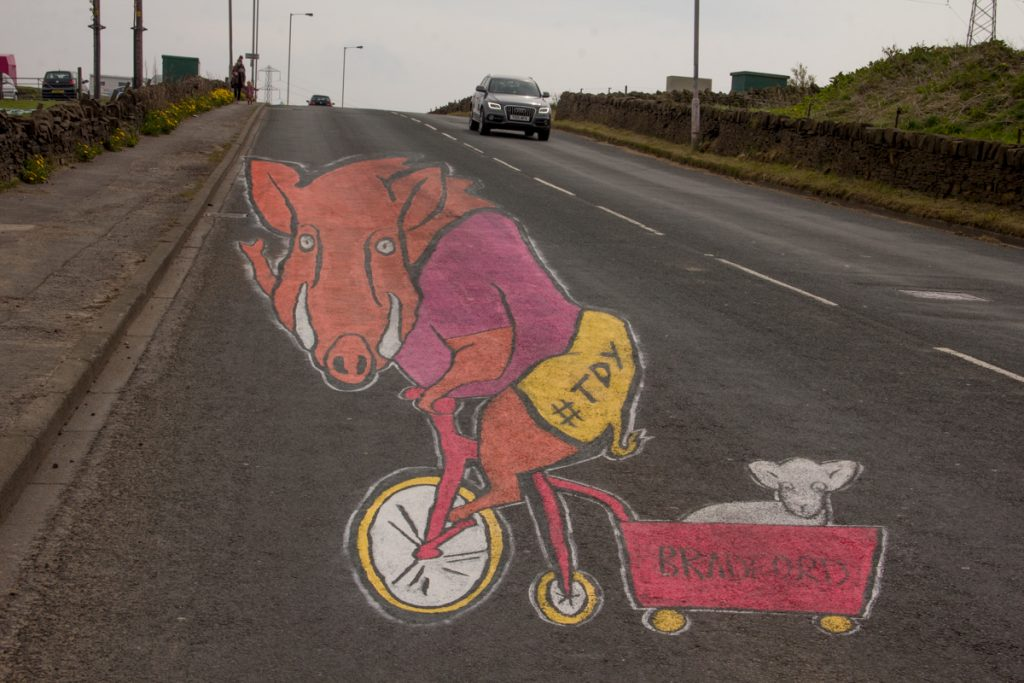 Land Art, Tour De Yorkshire 2017