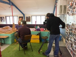 BBC Look North paid a visit to Sand In Your Eye Studios