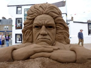 Sand sculpture scotland uk sand art sand in your eye