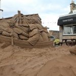 Scotland sand sculpture sand sculptor festival event ideas