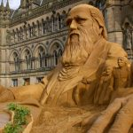 Yorkshire sand sculptor north of england sand sculpture