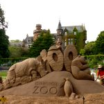 Zoo events summer sand sculpture uk