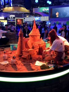 conference expo events sand art castle gaming