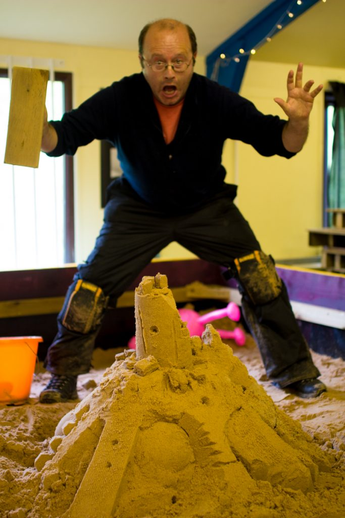 Creative Fun, Sand Sculpture Workshop