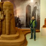 indoor sand sculpture installation doncaster sand house