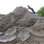 massive sand sculpture finland summer events