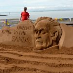 morecombe lancashire sand sculpture beach events